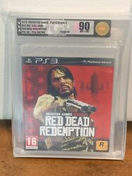 2010 Red Dead Redemption 1 Sony Playstation 3 Sealed Vga 90 Pal-uk Version Ps3