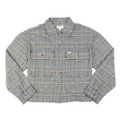 Brixton Womens Bowery Flannel Black S New