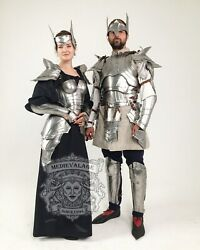 Medieval Fantasy Armor Suit For Couple Cosplay Armor Suit Halloween Party And Gift