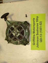 Johnson Sea-horse 10hp Qd13 1951-52 Outboard Motor Recoil Rewind Pull Rope Start