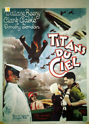 Hell Divers / Clark Gable / 1931 / Roy Hill / Movie Poster/86