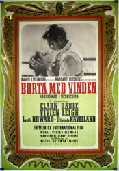 Gone With The Wind / Clark Gable / 1939 / Victor Fleming / Movie Poster/45