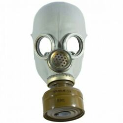 Gas Mask Pmg-2 Gp-5m Black Only Mask Soviet Russian Military Rare All Size