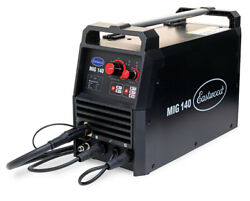 Eastwood 140 Amp Mig Welder 120v Tweco-style Torch Unit For Metal And Thin Steel