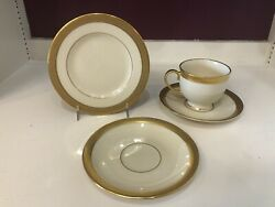 Lenox Lowell China. One Bread And Butter One Cup And Saucer And One Extra Saucer