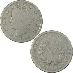 1886 Liberty Head V Nickel 5 Cent Piece G Good 5c Us Coin Collectible
