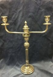Silver-plated Crafter Handmade Candlestick Holders 32cm16kg