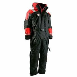 First Watch Anti-exposure Suit - Black/red - X-large As-1100-rb-xl