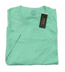 Polo Big And Tall Menand039s Mint Green Crew-neck Short Sleeve T-shirt