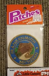 Frankenmuth Michigan - Vintage Embroidered Patch New