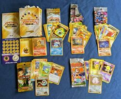 Open Japan Pocket Monsters Booster Packs, Pokemon Card Neo Game, Never Played