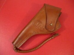 Wwi Us Army M1909 Leather Holster Colt Or Sandw M1917 .45 Caliber Revolver - Repro