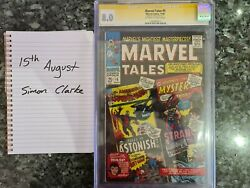 Marvel Tales 5 Signed Stan Lee 1963 Comic Cgc-8.0