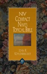 Niv Compact Nave's Topical Bible By Iii Kohlenberger, John R. New
