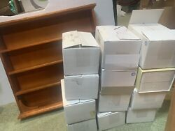 New With Boxes Lenox Pooh Pantry Spice Jar Set Of 24 W/ Display Shelf Complete