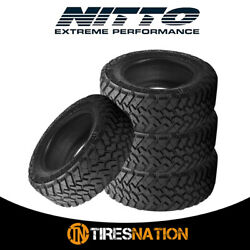 4 New Nitto Trail Grappler M/t 285/75/17 121q Off-road Traction Tire