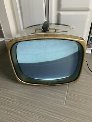 Rare Working Vintage Rca Victor Deluxe Tube Television Model 17-pd-8096