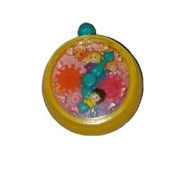Polly Pocket 1994 Bluebird Toys Clock Gears Mcdonalds Dolls Attached To Hands