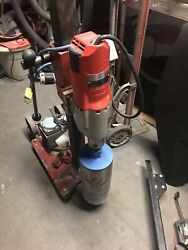 Drill Rig Complete With 4096 Milwaukee Drill Motor 6 Bit Vacuum