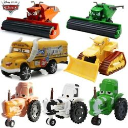 Disney Movie Cars Combine Harvester Andtractors And Fritter Diecast Model Toys Gift