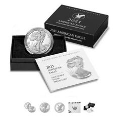 American Silver Eagle 2021 Proof 9 Coins Type 2 S-mint Confirmed 1oz. Silver