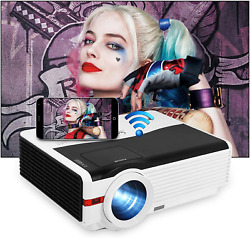 Full 1080p Native Ultra Hd Video Projector Home Theater Wifi Projector Bluetooth