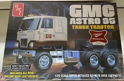 Amt 1230 Gmc Astro 95 Miller High Life Beer Cabover Semi Truck Kit 1/25 Mcm Fs