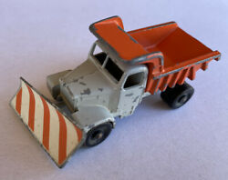 Vintage Lesney England Scammell No. 16 Snow Plow Dump Truck Diecast Toy