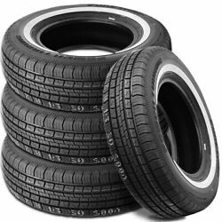 Set Of 4 Suretrac Power Touring White Wall Tires P235/75r15 235-75/r15 1.5 Wsw