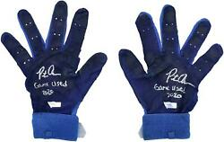 Game Used Pete Alonso Mets Glove Fanatics Authentic Coa Item11367579