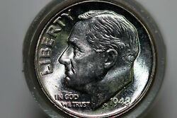 1948-p Bu Roll Of 50 Uncirculated Roosevelt 90 Silver Dimes Num6151