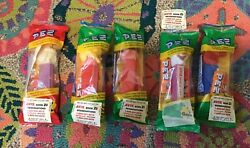 Set Of 5 Avis Promotional Pez Dispensers, Mid-1980's, New In Original Package