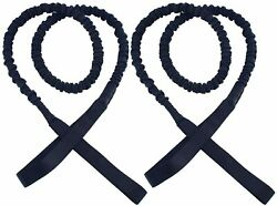 2 Pack 36 Marine Boat Bungee Dock Line, Mooring Rope, Bungee Cords For Boats