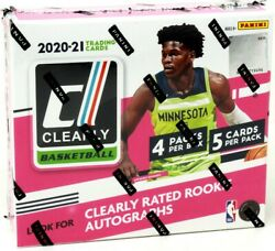 2020/21 Panini Clearly Donruss Basketball Hobby 12 Box Case Blowout Cards
