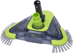 Urchindj Pool Vacuum Head Triangular Shape And Weighted Body And Universal Rotatable