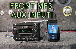 Ford F150 Mustang Fusion Radio Cd Tape Player Auxiliary Aux Mp3 2004 2005 2006