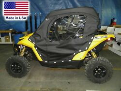 Doors For Can Am Maverick - Soft Material - Withstands Highway Speeds