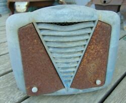 1930and039s Era Firestone Art Deco Heater Ford Chevy Dodge Patina Rat Rod Plymouth