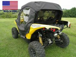Doors And Rear Window For Can Am Maverick - Soft - Withstands Highway Speeds
