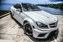 Mercedes-benz C63 W204 Coupe - Full Body Kit Black Series Amg Look