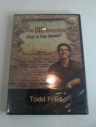 The Big Question What Is Your Answer 2009 New Dvd Todd Friel Sealed