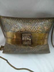Collectibles Antique 1920s Vintage France Theater Bag Brass Beautiful Unique Old