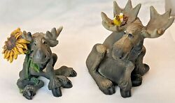 Big Sky Carvers Bearfoots Mooses 2000 Moose To Amuse And Collect Resin