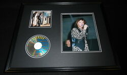 Richard Marx Signed Framed 16x20 Repeat Offender Cd And Photo Display