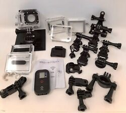 Gopro Hero3 46+/- Piece With Large Waterproof Purge Carrying Case Barely Used