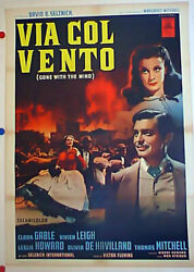 Gone With The Wind / Clark Gable / 1939 / Victor Fleming / Movie Poster/18