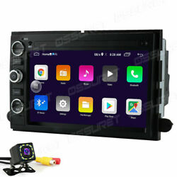 7 Android 10 Car Radio Navigation Stereo No Dvd Gps For Ford F150 2005-2008+cam