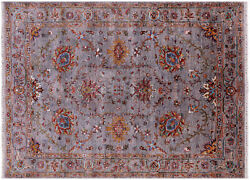 Traditional Hand-knotted Rug 5and039 2 X 6and039 11 - Q11323