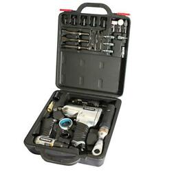 Husky Air Tool Line Blow Mold Carrying Case Less-noise Aluminum 27-piece