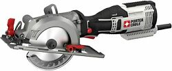 Porter-cable Pce381k 4-1/2-inch Compact 5.5-amp Corded Lightweight Circular Saw